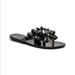 ✨ Nine West Black Jelly Sandal, Size 8 ✨